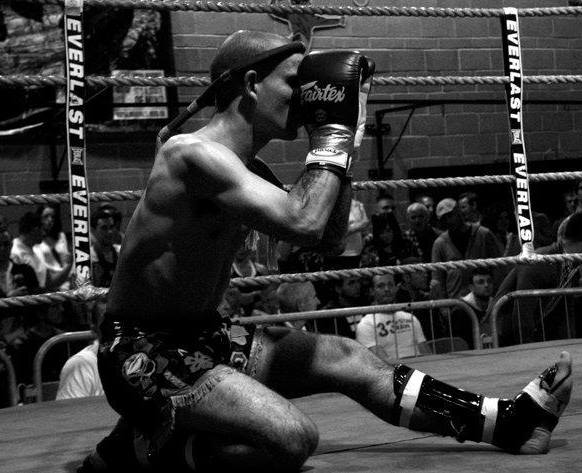 Ram Muay from my first fight in 2010 at Pure Thai Bristol