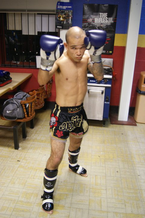 1st fight Pure Thai 2010