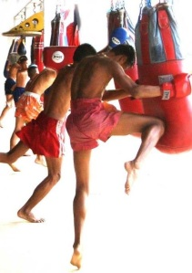 Muay-Thai-Heavy-bag-Training
